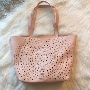 Handbags - Blush and Gold Tote